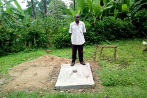 The Water Project: Lutonyi Community, Shihachi Spring -  Sanitation Platform