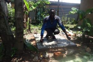 The Water Project: Shitungu Community, Makale Spring -  Sanitation Platform