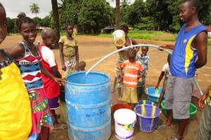 The Water Project: Baya Community -  Flushing