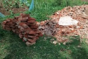 The Water Project: Ebusiratsi Special Primary School -  Collapsed Latrine