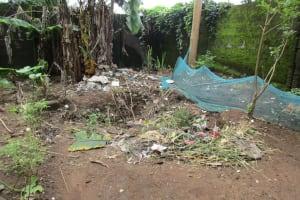 The Water Project: Benke Community, Waysaya Road -  Garbage Area