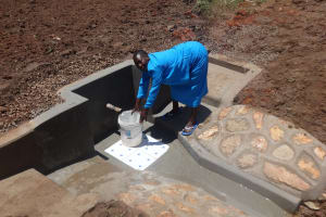 The Water Project: Shitungu Community, Makale Spring -  Clean Water