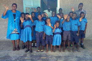 The Water Project: Bumini Primary School -  Training Participants