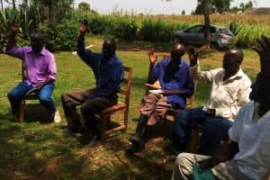 The Water Project: Futsi Fuvili Community, Futsi Fuvili Spring -  Training