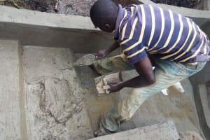 The Water Project: Mwiyala Community, Benard Spring -  Spring Construction