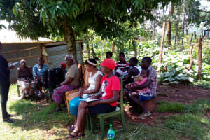 The Water Project: Lutonyi Community, Shihachi Spring -  Training