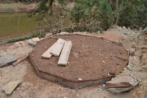 The Water Project: Kithuluni Community A -  Well Construction