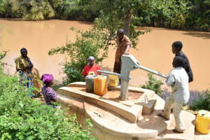 The Water Project: Kithuluni Community A -  Clean Water