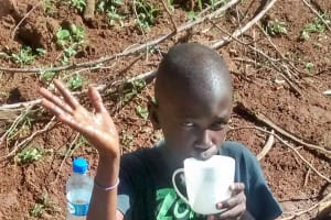 The Water Project: Ebuhando Community, Christopher Omasaba Spring -  Clean Water