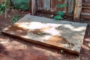 The Water Project: Ebuhando Community, Christopher Omasaba Spring -  Sanitation Platform