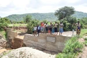 The Water Project: Muselele Community -  Finished Sand Dam
