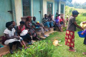 The Water Project: Mwiyala Community, Benard Spring -  Hand Washing Demo