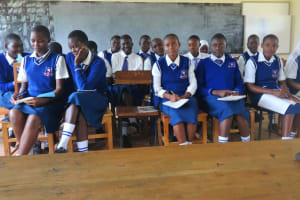 The Water Project: Matete Girls High School -  Training