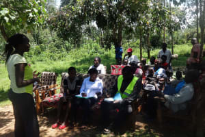 The Water Project: Shitungu Community, Makale Spring -  Training