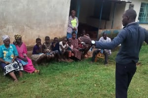 The Water Project: Ebuhando Community, Christopher Omasaba Spring -  Training