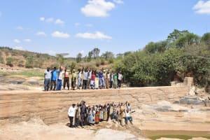 The Water Project: Kithuluni Community -  Finished Sand Dam