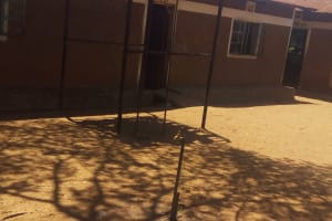 The Water Project: Shibale Primary School -  Plastic Tank That Stores Unreliable Piped Water