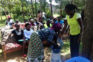 The Water Project: Shitungu Community, Makale Spring -  Hand Washing