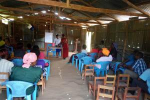 The Water Project: Shiamboko Community, Oluchinji Spring -  Hand Washing Session