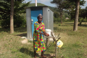 The Water Project: Ilinge Community C -  House Visits