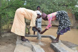 The Water Project: Kathama Community A -  Clean Water