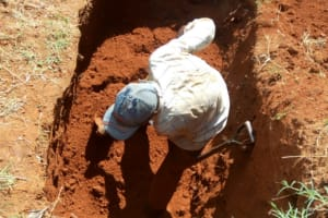 The Water Project: Mwiyenga Primary School -  Sinking The Pit For Latrines