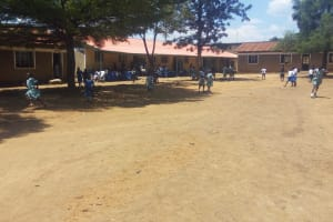 The Water Project: Shibale Primary School -  Students Playing Outside