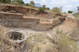 The Water Project: Muselele Community A -  Well Construction