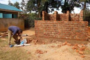 The Water Project: Bumini Primary School -  Latrine Construction
