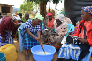 The Water Project: Muselele Community A -  Soap Training