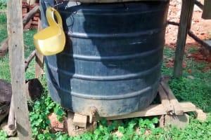 The Water Project: Ebusiratsi Special Primary School -  Plastic Tank