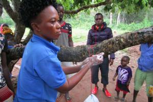 The Water Project: Baya Community -  Hand Washing