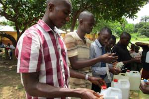 The Water Project: Kulufai Rashideen Secondary School -  Making Hand Washing Stations