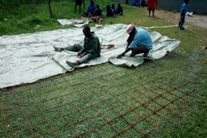 The Water Project: Bumini Primary School -  Mesh For Wall