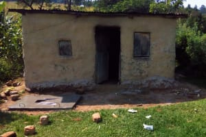 The Water Project: Mwiyala Community, Benard Spring -  Sanitation Platform