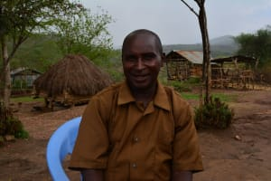 The Water Project: Kasioni Community -  John Ngumbi