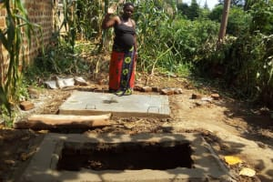 The Water Project: Mwiyala Community, Benard Spring -  Platform Next To Pit