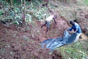 The Water Project: Lutonyi Community, Shihachi Spring -  Excavation
