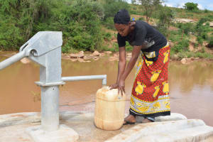 The Water Project: Kasioni Community A -  Clean Water