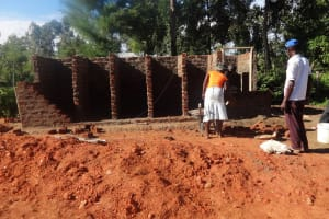 The Water Project: Matete Girls High School -  Latrine Construction