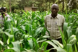 The Water Project: Ebusiratsi Special Primary School -  Teacher Posing At School Farm
