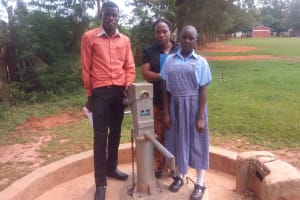 The Water Project: Shitirira Primary School Well Rehabilitation Project -