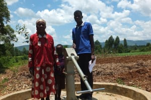 The Water Project: Timbito Community Well Rehabilitation Project -