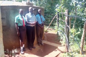 The Water Project: St. Stephen Eshihaka Secondary School -