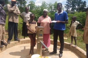 The Water Project: Imbiakalo Well Rehabilitation Project -