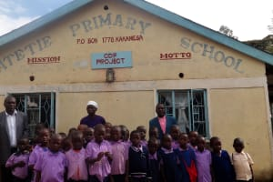 The Water Project: Ematetie Primary School -  Students And Teachers