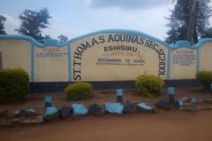 The Water Project: Eshisiru Secondary School -  School Gate