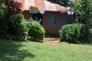 The Water Project: Lwenya Community, Warosi Spring -  Household