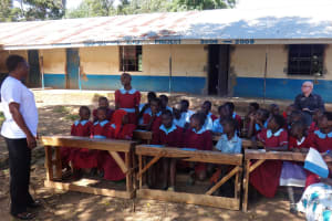 The Water Project: Emulakha Primary School -  Training