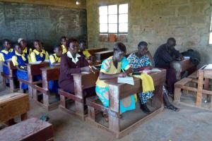 The Water Project: Emukhalari Primary School -  Training